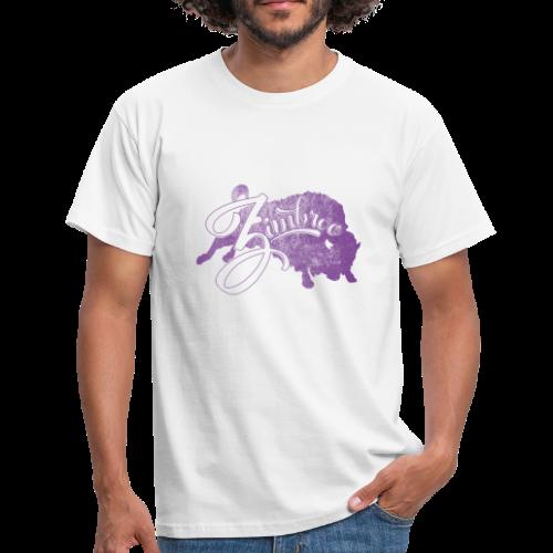 Zimbroo classic purple - T-shirt Homme