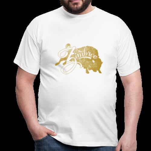 Zimbroo classic gold dark - T-shirt Homme