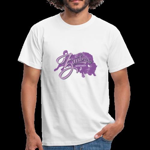 Zimbroo vintage purple - T-shirt Homme