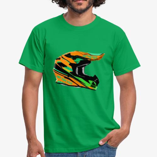 MX Helmet orange - Maglietta da uomo