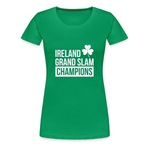 Ireland Rugby Grand Slam Champions - Women's T-Shirts - Women's Premium T-Shirt