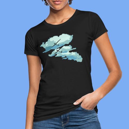 Segelflieger Wolkenstraße cloudstreet - Women's Organic T-Shirt