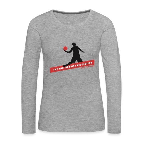 Ladies Long Sleeve Tee - Women's Premium Longsleeve Shirt