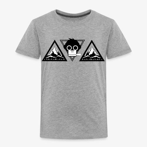 kids shirt mountain (Flockdruck) - Kinder Premium T-Shirt