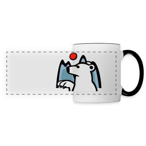 polar bär - Panoramic Mug
