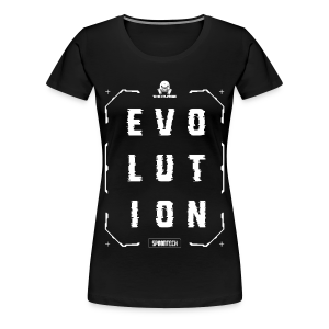 Evolution Tee [Ladies] - Women's Premium T-Shirt