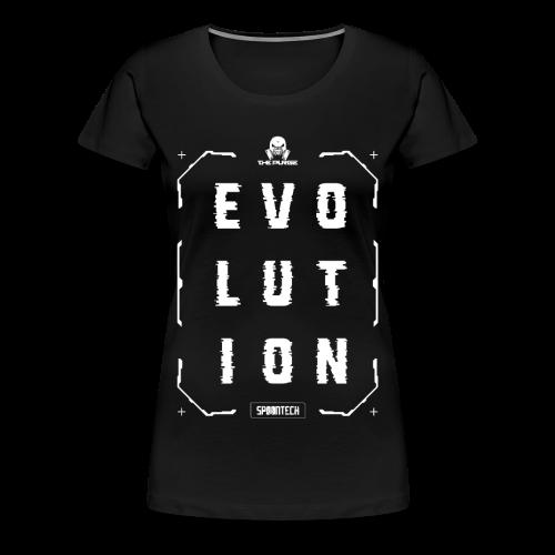Evolution Tee [Ladies] - Women's Premium T-Shirt