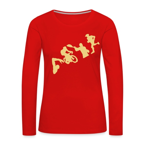Q4U Langarmshirt - Women's Premium Longsleeve Shirt