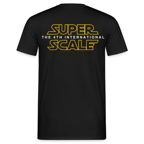 superScale Wars - Yellow - Männer T-Shirt