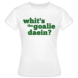Whit's The Goalie Daein