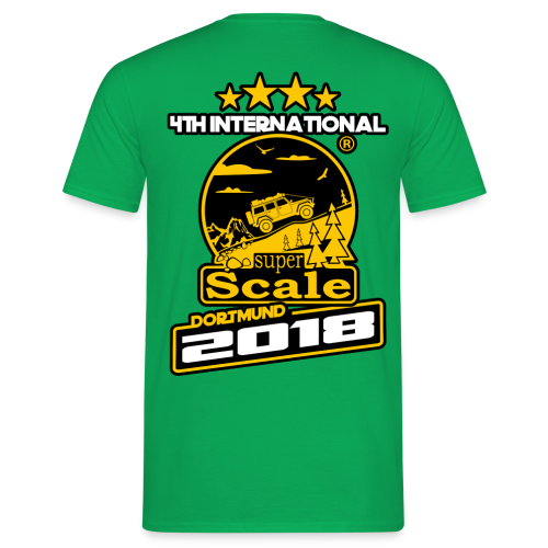 superScale 2018 T-Shirt - Nickname - Männer T-Shirt
