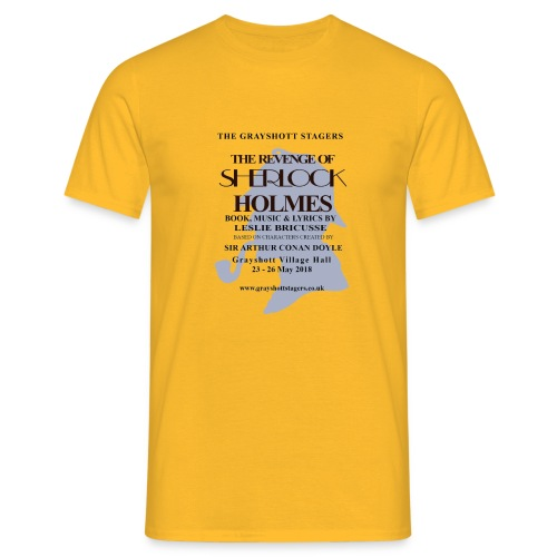 Sherlock T shirt 2 - Men's T-Shirt