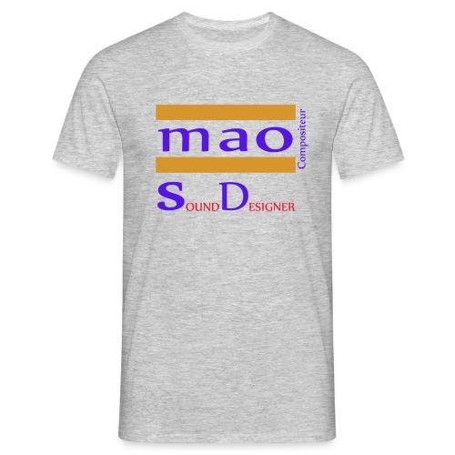 Tee-Shirt MAO Sound Designer  - T-shirt Homme