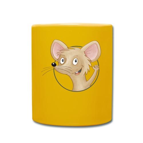 Mäuschen - Tasse farbig - Tasse einfarbig