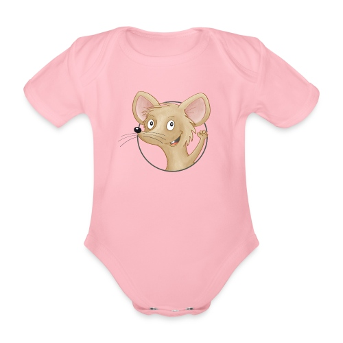 Mäuschen - Baby Bio-Kurzarm-Body - Baby Bio-Kurzarm-Body