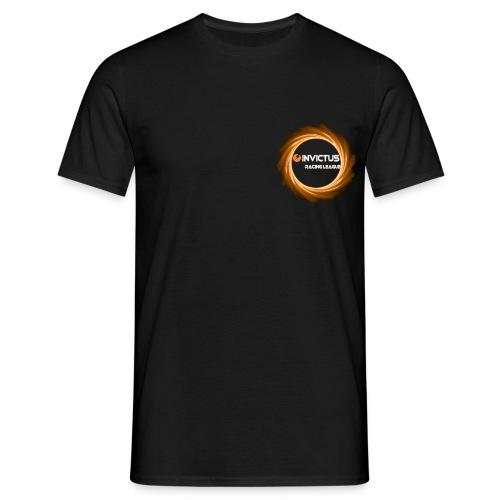 Invictus Racing League - Black Shirt  - Blank - Men's T-Shirt