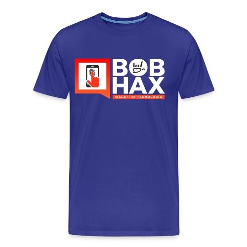 Bob Hax logo nera - Maglietta Premium da uomo