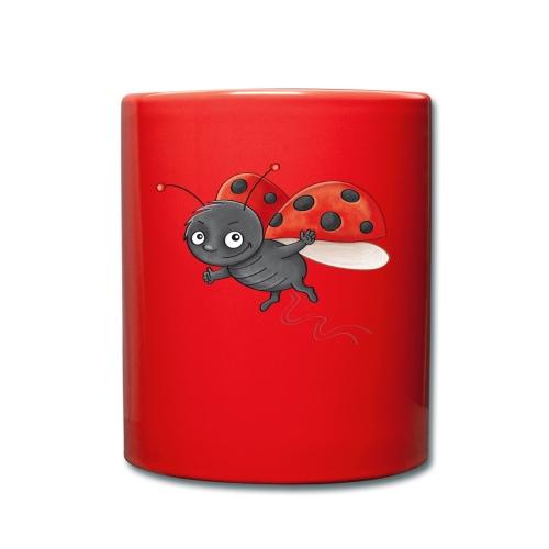 Marienkäfer - Tasse farbig - Tasse einfarbig