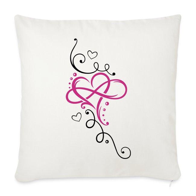 Merch and beauties herz mit unendlichkeit infinity love sofa herz mit unendlichkeit infinity love altavistaventures Images