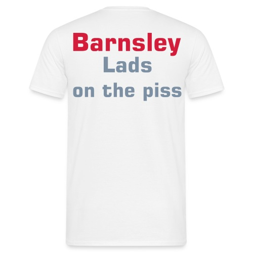 Barnsley lads piss up - Men's T-Shirt