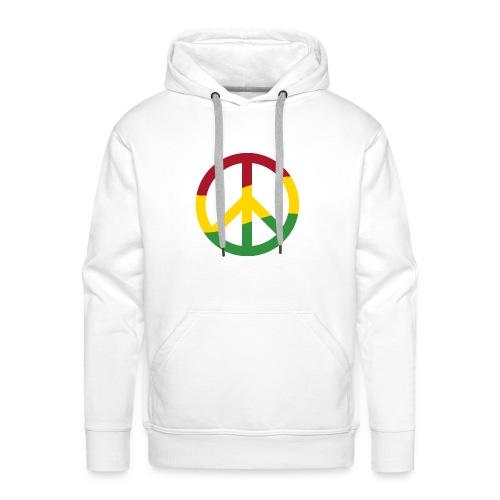 Peacezeichen Rastafari Reggae Musik Frieden Pace - Männer Premium Hoodie