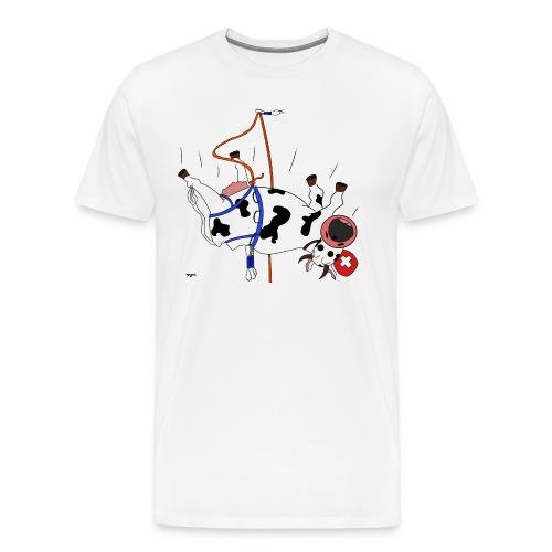 La vache! en escalade - Männer Premium T-Shirt