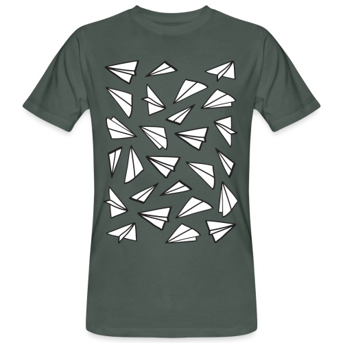 Vliegtuigjes mannen bio t-shirt - Mannen Bio-T-shirt