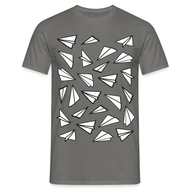 Vliegtuigjes mannen t-shirt