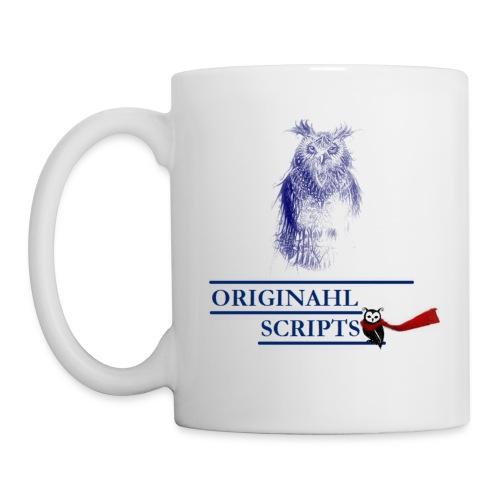 Mug blanc - Tasse de café: DEF +10 SPE + 15 ATK + 9