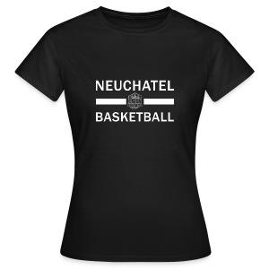 T-Shirt Femme avec nom dans le dos - T-shirt Femme