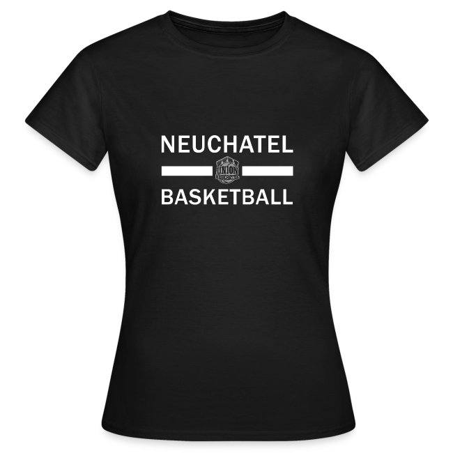 T-Shirt Femme avec nom dans le dos