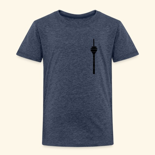 Düsseldorf Rheinturm Kids - Kinder Premium T-Shirt