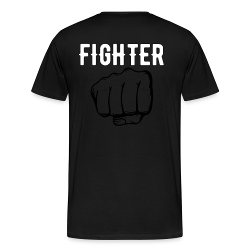 Fighter - Premium-T-shirt herr
