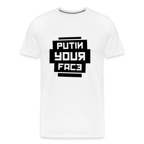 PYF T-SHIRT KREMLIN VERSION - Männer Premium T-Shirt