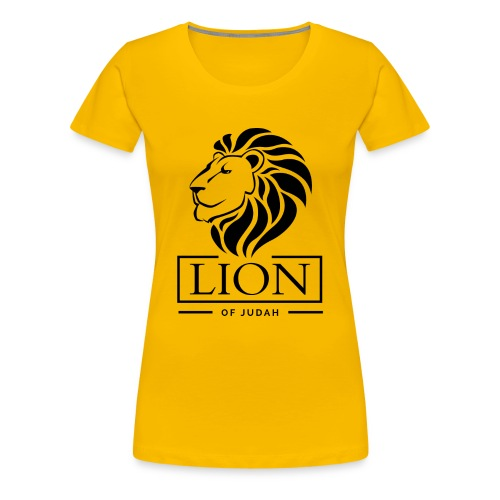 Lion of Judah Jah Rastafari Reggae Roots Empress Shirt - Frauen Premium T-Shirt