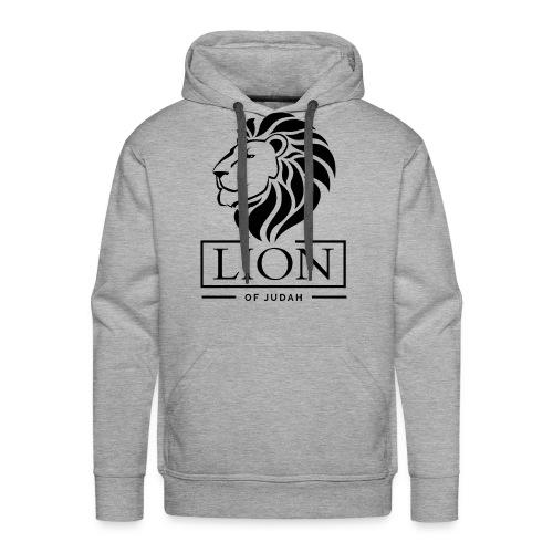 Lion of Judah Jah Rastafari Reggae Roots Emperor Hoodie - Männer Premium Hoodie