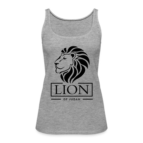 Lion of Judah Jah Rastafari Reggae Roots Shirt - Frauen Premium Tank Top
