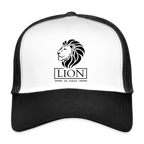 Lion of Judah Jah Rastafari Reggae Roots Trucker Cap - Trucker Cap