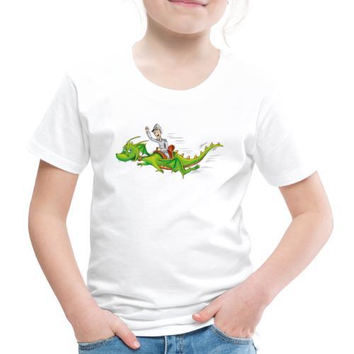 Drachenreiter - Kinder Premium T-Shirt - Kinder Premium T-Shirt