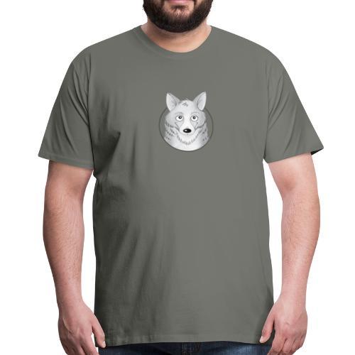 kleiner Wolf - Männer Premium T-Shirt - Männer Premium T-Shirt