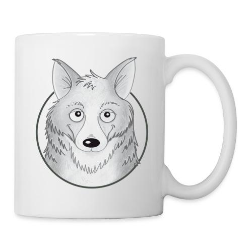 kleiner Wolf - Tasse weiß - Tasse