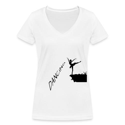 Let´s Dance Series - Frauen Bio-T-Shirt mit V-Ausschnitt von Stanley & Stella