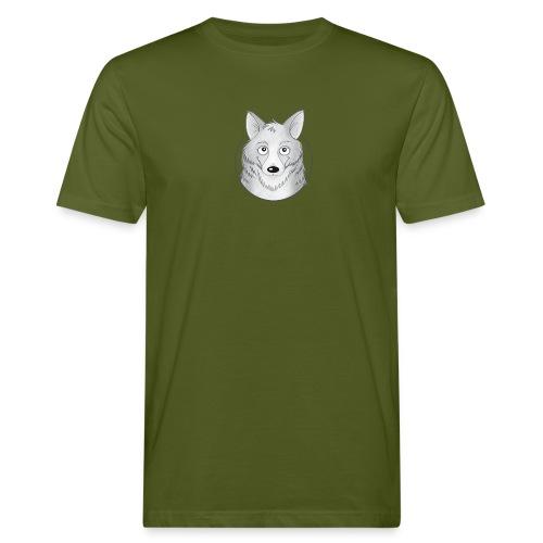 kleiner Wolf - Männer Bio-T-Shirt - Männer Bio-T-Shirt