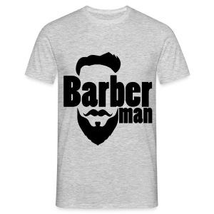 Barber Man Noir - T-shirt Homme