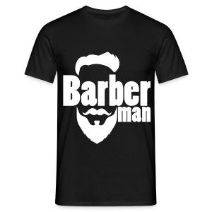 Barber Man Blanc - T-shirt Homme