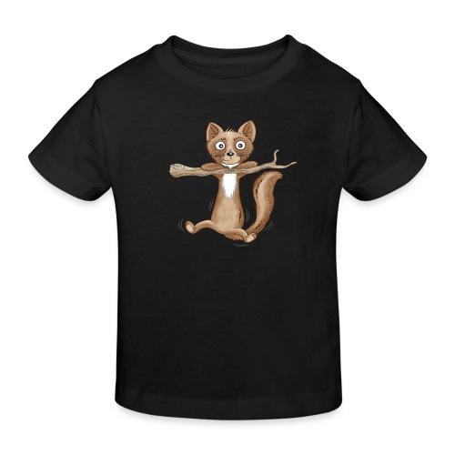 kleiner Baummarder - Kinder Bio-T-Shirt - Kinder Bio-T-Shirt