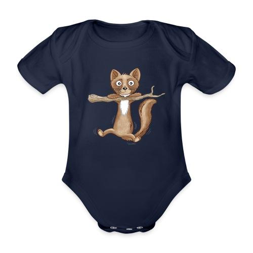 kleiner Baummarder - Baby Bio-Kurzarm-Body - Baby Bio-Kurzarm-Body
