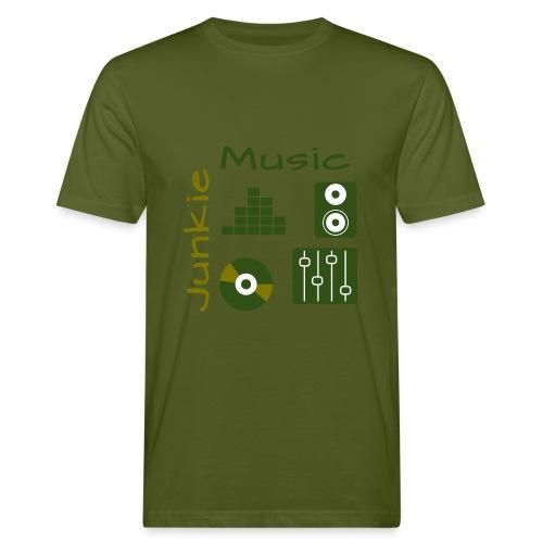 Music Junkie Serie - Männer Bio-T-Shirt