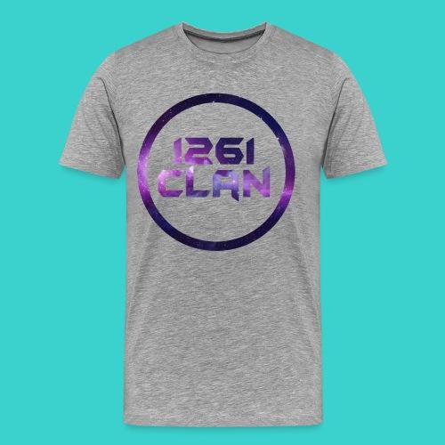 1261 Clan Men's Tee - Galaxy Logo - Men's Premium T-Shirt