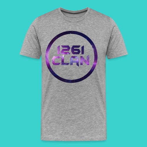 1261 Clan Men's Tee - Galaxy Logo - Men's Premium T-Shirt